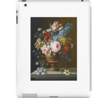Barbara Regina Dietzsch STILL LIFE WITH A ROSE, HYACINTH AND PARROT TULIPS iPad Case/Skin