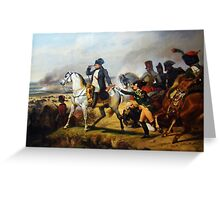 Napoleon's Battle At Wagram - Versailles Greeting Card