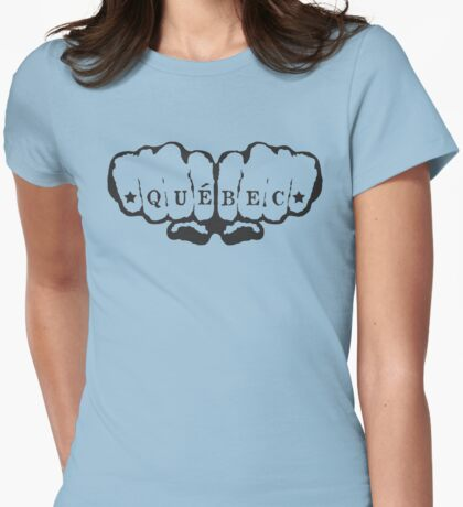 Quebec! Womens Fitted T-Shirt