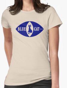 BLUE CAT RECORDS Womens T-Shirt