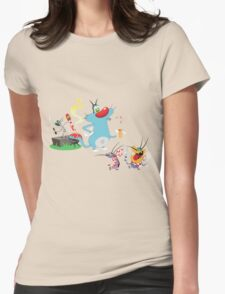 Character oggy Womens Fitted T-Shirt