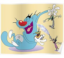 Character oggy Poster