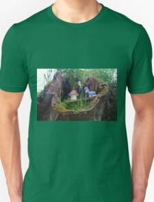 Caterpillar And Toadstool Unisex T-Shirt