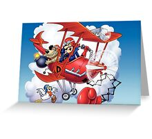 Wacky Races 2 Greeting Card