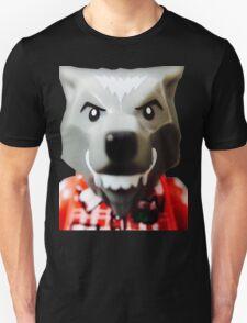 Lego Wolf Guy minifigure Unisex T-Shirt