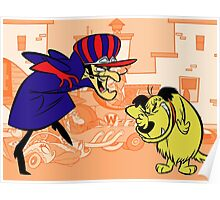 Dastardly & Muttley Funny Poster