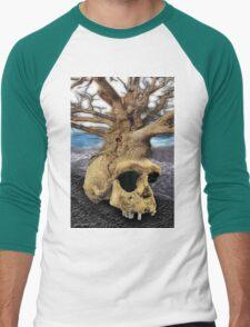 as above so below Men's Baseball ¾ T-Shirt