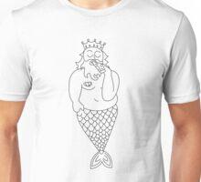 pizza merman Unisex T-Shirt