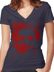 MAD Women's Fitted V-Neck T-Shirt