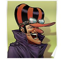 Dick Dastardly Laugh Poster