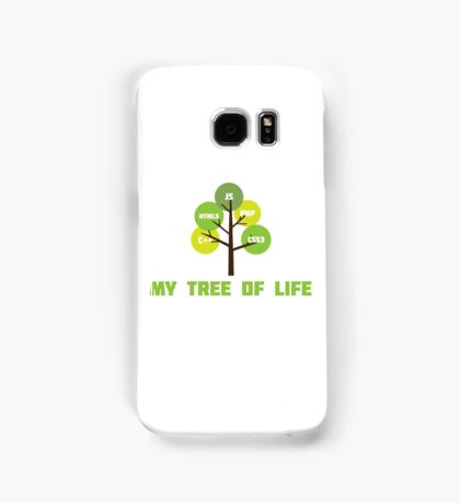Programming tree of life Samsung Galaxy Case/Skin