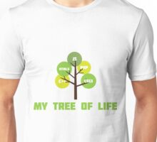 Programming tree of life Unisex T-Shirt