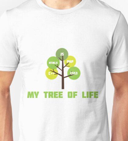 Programming tree of life Unisex T-Shirt