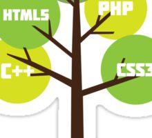 Programming tree of life Sticker