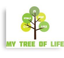 Programming tree of life Metal Print
