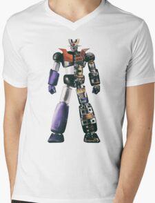 Mazinger Z Mens V-Neck T-Shirt