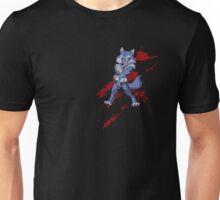 Cute anthro blue wolf Unisex T-Shirt