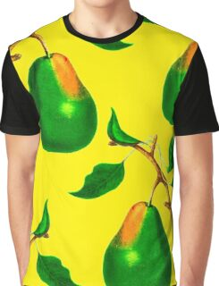 PEARL PATTERN FRUIT Graphic T-Shirt