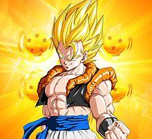 Dragon Ball Z - Super Gogeta by J. Danion