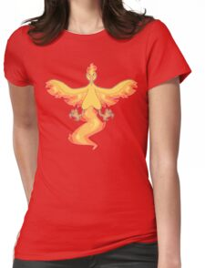 The Flame Pokemon Womens Fitted T-Shirt