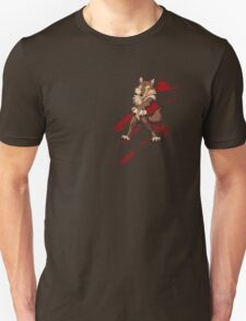 Cute anthro brown wolf Unisex T-Shirt