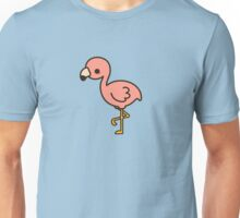 Cute flamingo Unisex T-Shirt