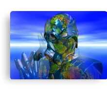 World Pollution Canvas Print