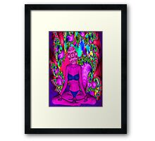 Purple Meditation Framed Print