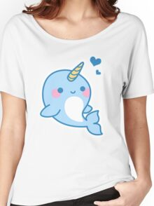 Cute Narwhal Women's Relaxed Fit T-Shirt