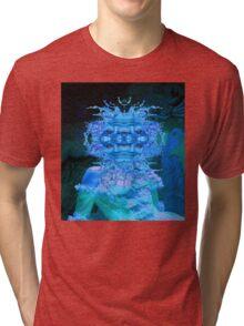 Blue Champagne Tri-blend T-Shirt