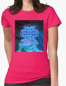 Blue Champagne Womens Fitted T-Shirt