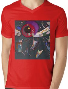 Kandinsky - Around The Circle Mens V-Neck T-Shirt