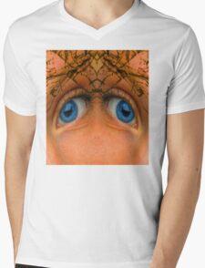 Eyes of an Alien Mens V-Neck T-Shirt