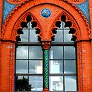 Templeton Carpet Factory Windows ~ Glasgow Green by ©The Creative  Minds