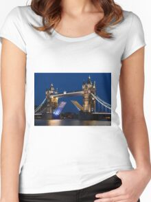 Tower Bridge Women's Fitted Scoop T-Shirt