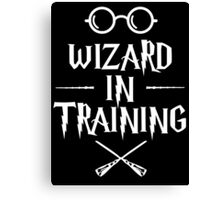 Wizard in training HP v2 Canvas Print