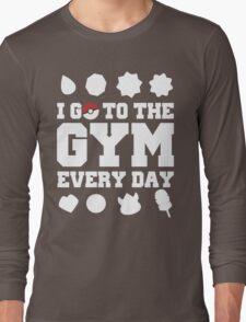 Pokemon gym Long Sleeve T-Shirt