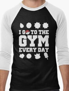 Pokemon gym Men's Baseball ¾ T-Shirt