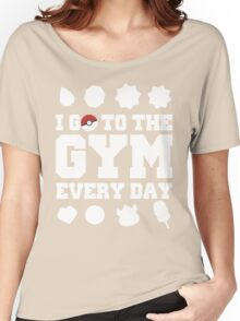 Pokemon gym Women's Relaxed Fit T-Shirt