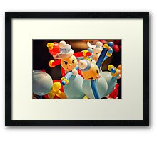 balloon toys Framed Print