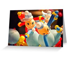 balloon toys Greeting Card
