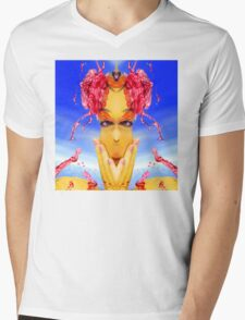 Sea Creature Mens V-Neck T-Shirt