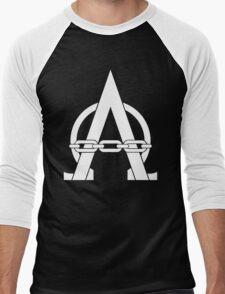 I am Alpharius Icon (Alternate) Men's Baseball ¾ T-Shirt