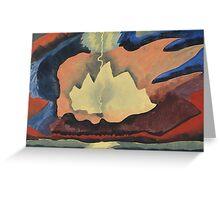 Kandinsky - Thunder Shower Greeting Card