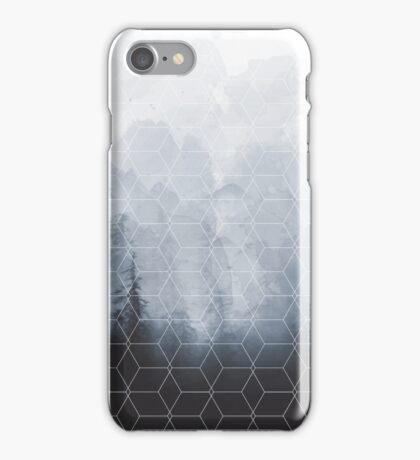 Geometric Forest Pattern iPhone Case/Skin