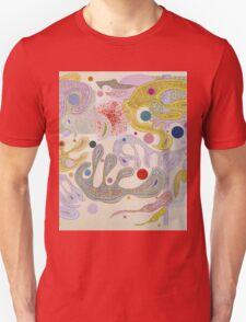 Kandinsky - Capricious Forms Unisex T-Shirt