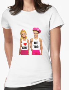 I Love Ken! Womens Fitted T-Shirt
