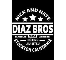 Nick And Nate Diaz Photographic Print