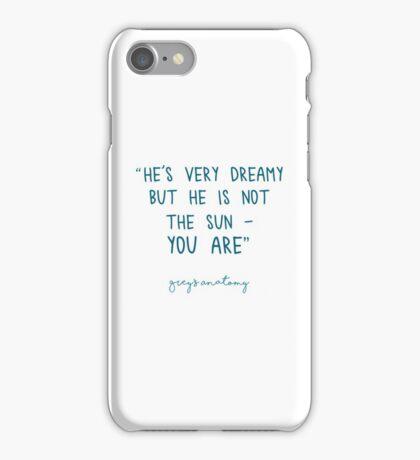 Grey's Anatomy - He's very dreamy  iPhone Case/Skin