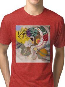 Kandinsky - Dominant Curve Tri-blend T-Shirt